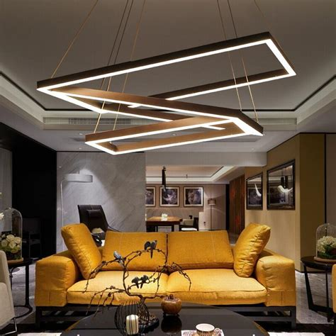 Office Chandeliers Creative Modern Chandelier Simple Personality Led
