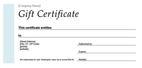 publisher gift certificate template sogol co