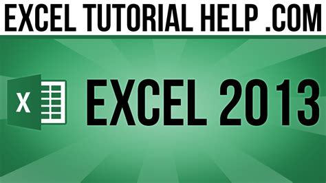 tutorial youtube excel 2013 excel 2013 tutorial clip art smartart and shapes youtube