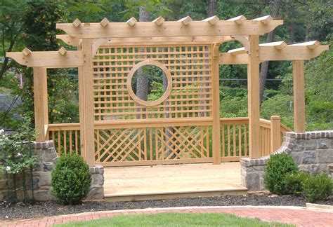 wood trellis plans plans for wood arbors image mag