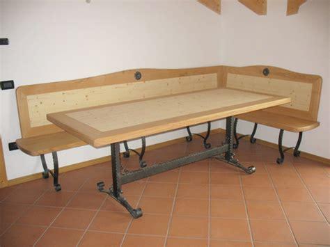tavolo e panche tavoli e panche in legno falegnameria madera