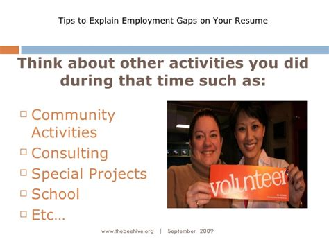 History Resume Tips by Spotty Work History Resume Tips