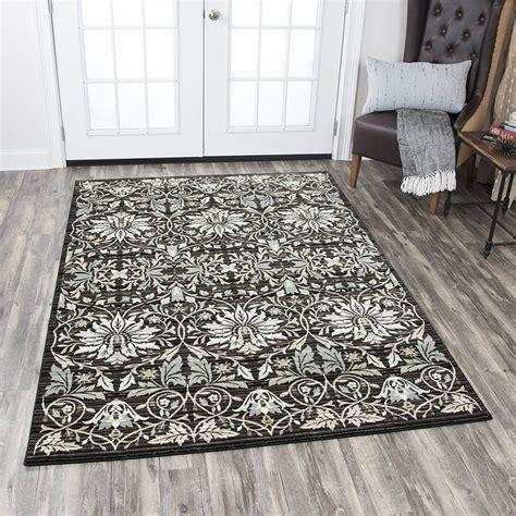 7 10 x 10 10 zenith black area rug hobo - 10 X 10 Black Area Rug