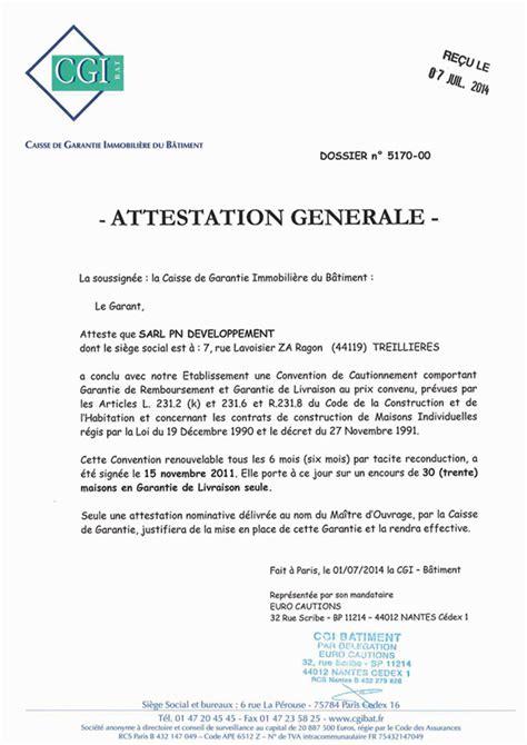 Exemple De Lettre Garantie De Parfait Achèvement Pn Ing 233 Nierie Contractant G 233 N 233 Ral En Loire Atlantique