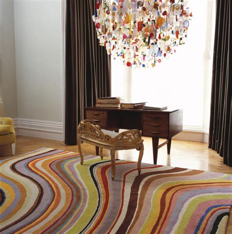 The Rug Store by 18 Rooms With Colorful Rugs Design Milk