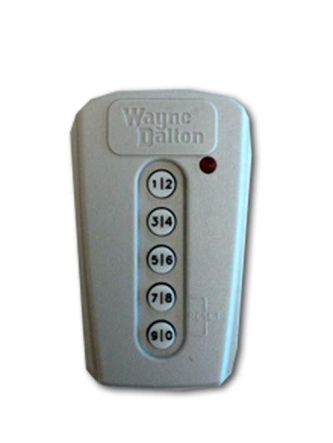 wayne dalton keypad 327308