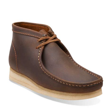 clarks originals wallabee boot shoes beeswax leather