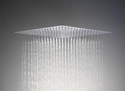 Ceiling Flush Mount Shower by Saneux Slim Shower Flush To Ceiling Showerheads And Sprays
