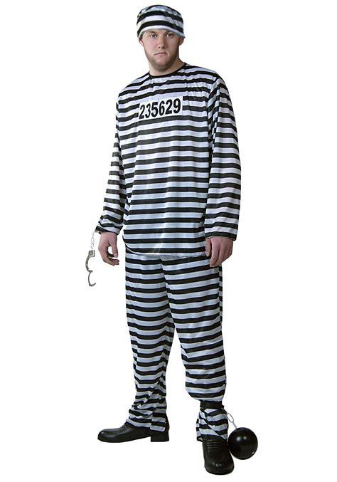 prisoner costume plus size s prisoner costume