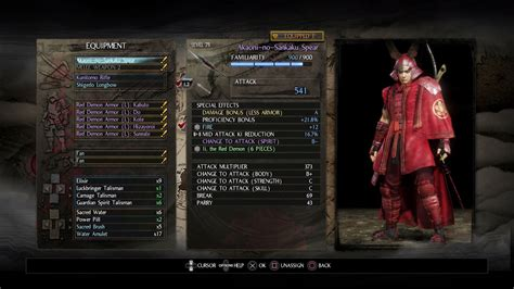 amazing cing gear nioh armor weapon smithing text amazing