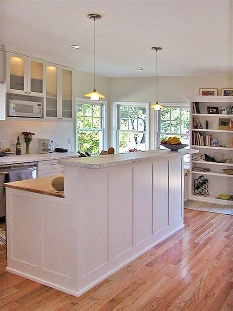 kitchen island with raised bar raised counter kitchens pinterest television