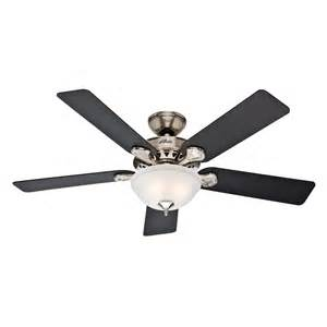 Waldon Ceiling Fan Fan Company 52 In Waldon 5 Minute Brushed Nickel