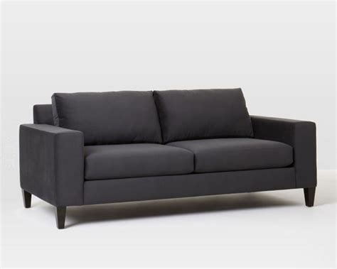 west elm york sofa letgo west elm dark gray york sofa couch in graceland il