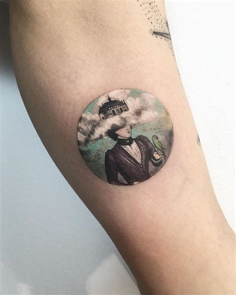round tattoos tattoos by krdbk tell fantastic stories