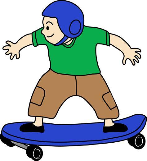 Skateboarding Clipart skateboarding boy clip free clip
