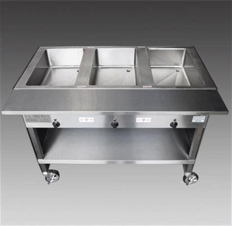 portable steam table