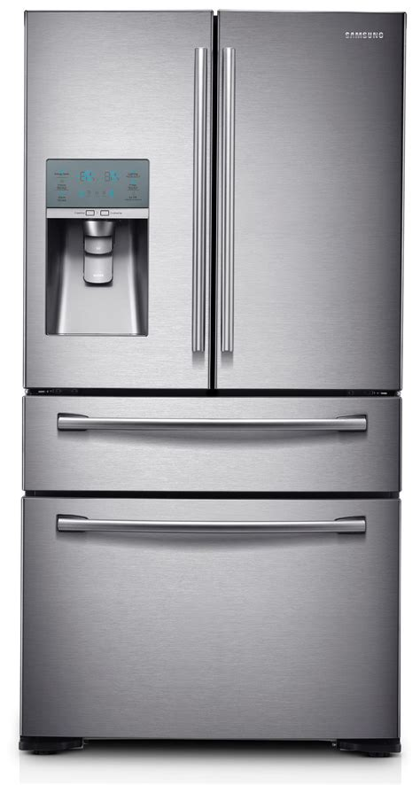 Samsung 4 Door Refrigerator by Samsung 29 7 Cu Ft 4 Door Refrigerator Stainless Steel
