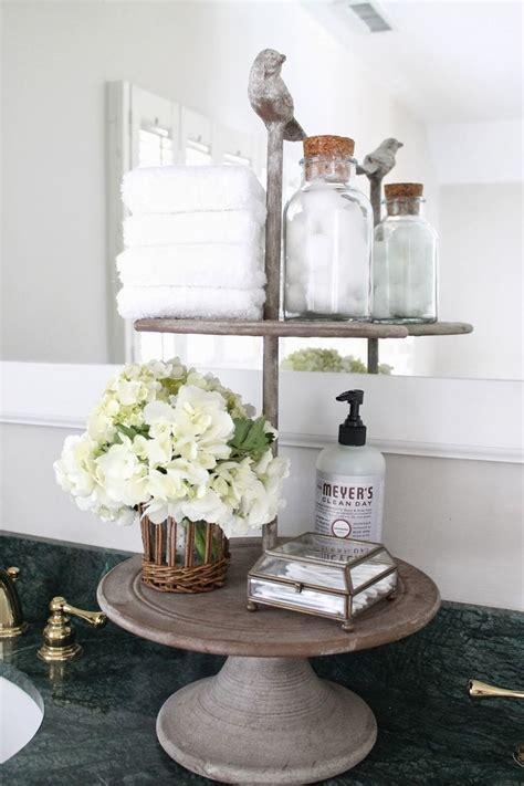 Bathroom Counter Decor by Best 25 Bathroom Counter Storage Ideas On