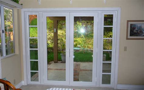 Patio Door With Side Windows Designs Impressive On Patio Door Patio Doors And Doors Abc Windows And More Exterior Decor