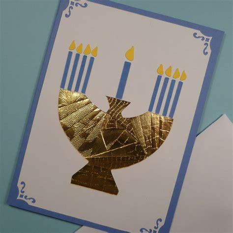 Handmade Hanukkah Cards - hanukkah menorah cards family net guide