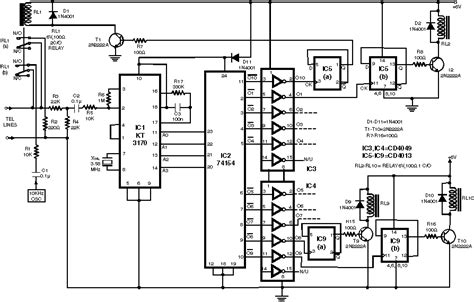 Phone Reset Switch Telephone Switch Hook Switch telephone circuit page 7 telephone circuits next gr