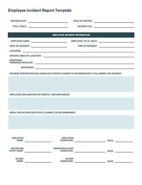 itil incident report form template awic2007 net