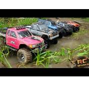 RC ADVENTURES  6 Scale 4x4 Trucks In MUD DIRT &amp A Forest Group
