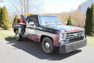 wrecker bed bangshift com 1979 gmc 3500 cheyenne pickup truck wrecker