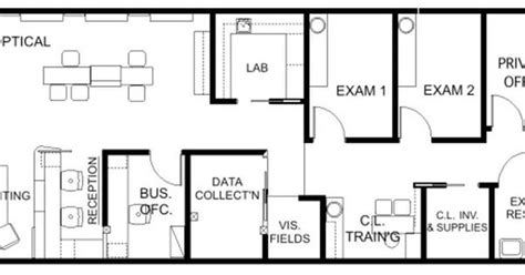 optometry office floor plans floor plan design barbara wright design dental and