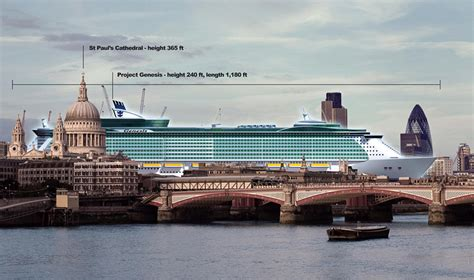 largest cruise ship being built enjoy central park at sea gcaptain