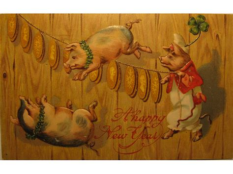 new year pig meaning 01 january 2011 babylon baroque