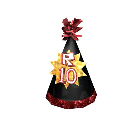 mix this with the other customize an avatar with the roblox 10th anniversary