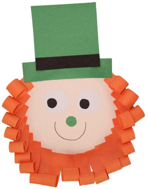 Leprechaun Paper Craft - search results for leprechaun hat template printable