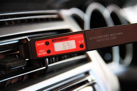 Termometer Ac Mobil faktor faktor ac mobil tidak dingin