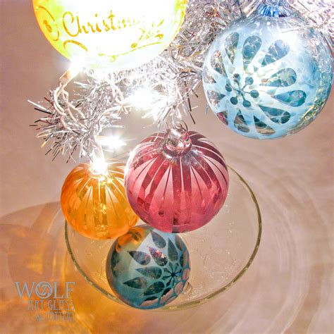 glass ornaments blown glass ornaments and suncatcher balls at blown
