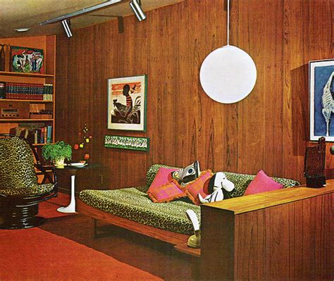 70s wood paneling living room inspiration 60s 70s tickle me vintage