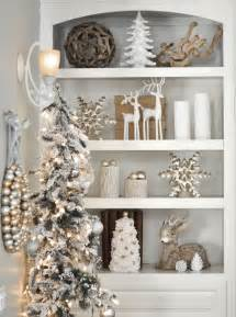 silver and gold home decor 44 refined gold and white christmas d 233 cor ideas digsdigs