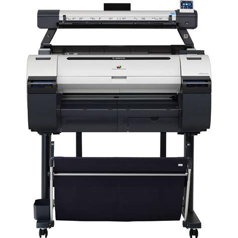 Canon Imageprograf Ipf670 24 Large Format 9854b022ab B H Best Personal Color Laser Printer L
