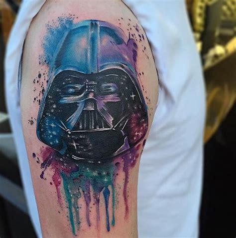 darth vader thigh tattoo geeky tattoos 161 los 30 tatuajes de star wars m 225 s incre 237 bles