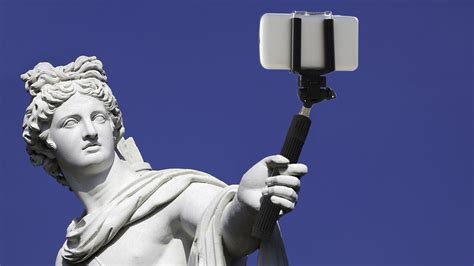 selfie how we became why we have ancient greece to blame for selfie sticks marketwatch