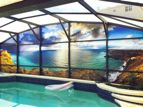 pool screen privacy curtains pool screen privacy mibhouse com