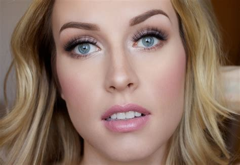natural makeup tutorial for blondes how to bridal makeup tutorial lashes love leather