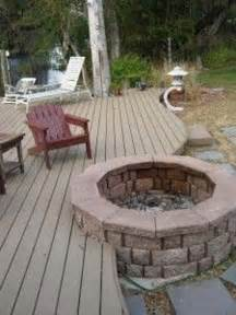 How To Build A Pit On A Deck 32 wonderful deck designs to make your home extremely