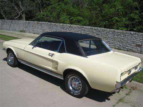 ford mustang fog lights 1967 ford mustang 351 coupe w gt fog lights for sale