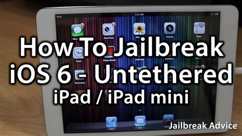 Jailbreak Mini how to jailbreak mini using evasi0n mini ios 6 untethered jailbreak