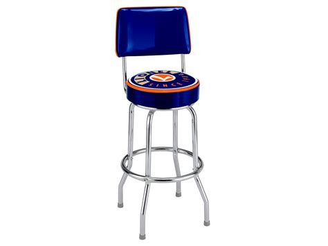 ford bar stool with backrest lionel logo bar stool with backrest