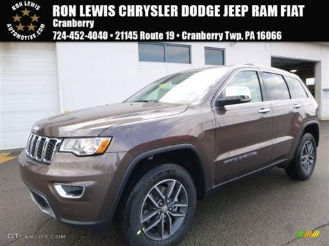jeep cherokee brown 2017 walnut brown metallic jeep grand cherokee limited 4x4