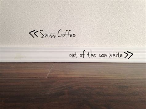 Paint Swiss Coffee by Colors Benjamin And On