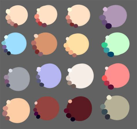 skin colors by rika dono on deviantart
