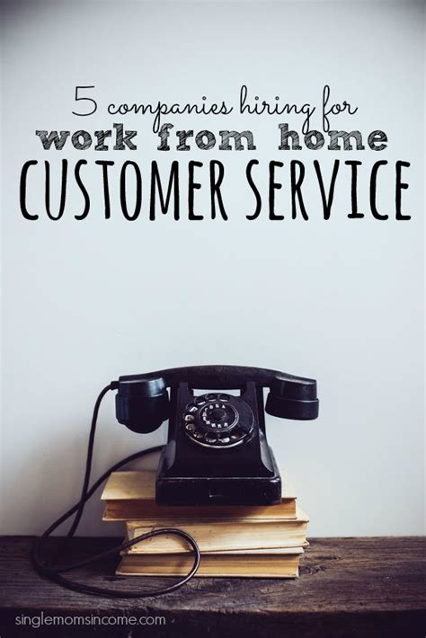5 companies hiring work at home customer service reps